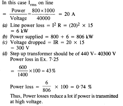 NCERT Solutions for Class 12 physics Chapter 7.33