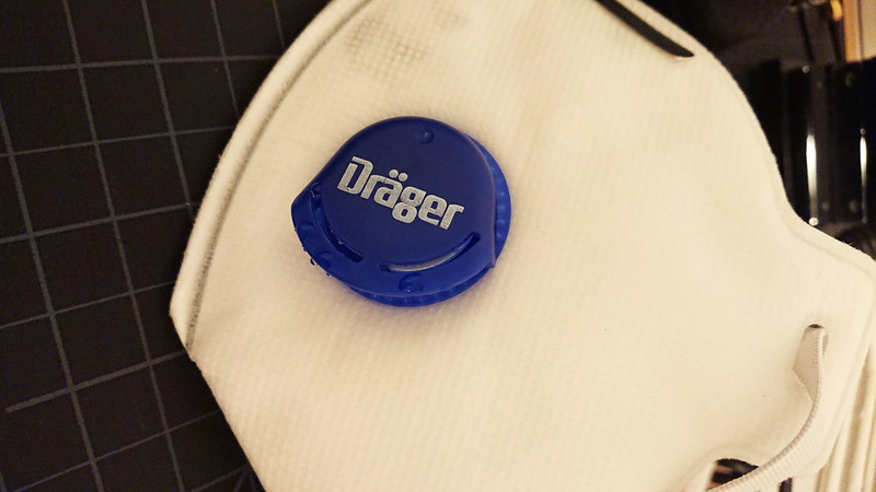 Condensation on a Drager X-plore 1760