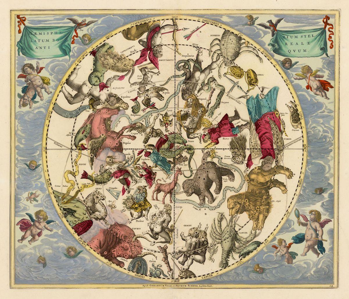 The Northern Stellar Hemisphere of Antiquity.
