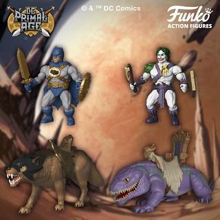 什麼!這樣也行?! Funko【DC Primal Age】DC 超級英雄、惡棍反派變身肌肉棒子,還有超酷的蝙蝠洞喔喔~~