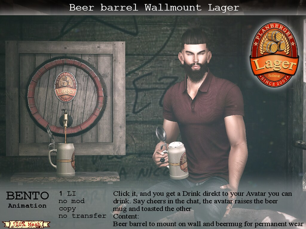 Planberger Beer Barrel Lager