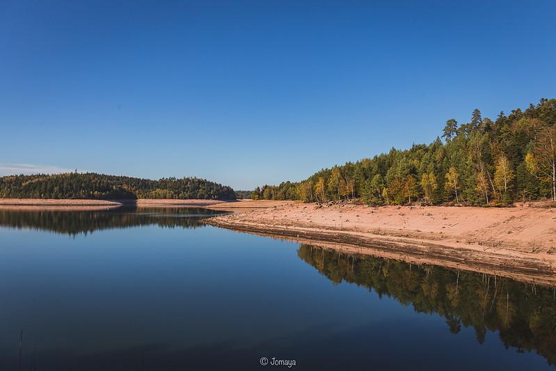 Lorraine - Lac de Pierre Percée - Octobre 2018