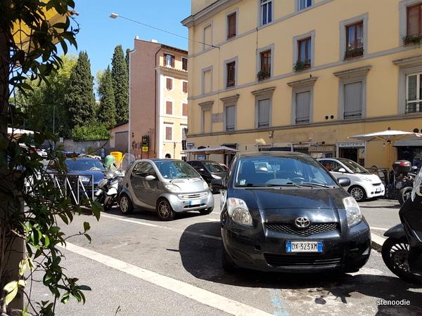 Naumachia Ristorante window seat