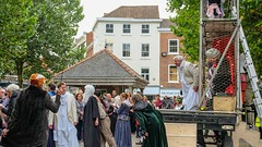YMPST waggon play performance, St Sampson's Square, 16 September 2018 - 04