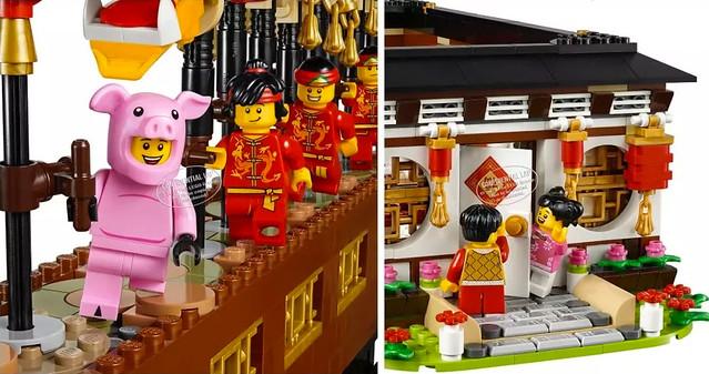 濃厚的中國風元素~ LEGO 將推出兩款中國限定的盒組,預計將於2019 新年發售!
