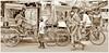 Cycle rickshaws, Kolkata Street Photography