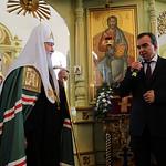 Патриарший визит в Кубанскую митрополию. Литургия в Никольском кафедральном соборе Армавира