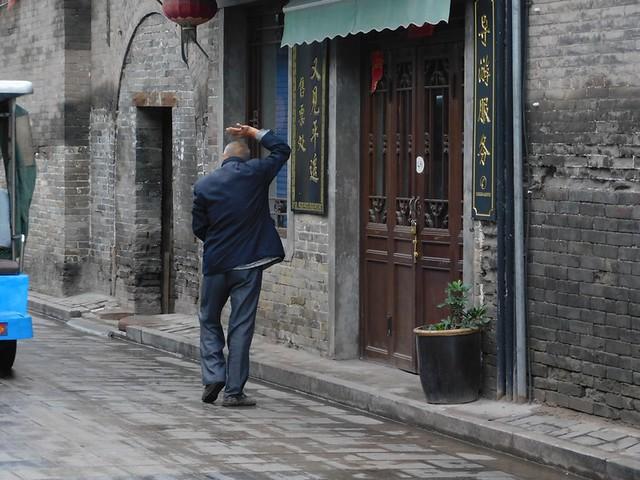 10-20/09/2018 Voyage en Chine - 16/09 Pingyao   / Train pour Pékin / Palais d'été / Vieille Ville en Pousse pousse