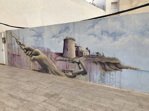 Mural en Pilar de la Horadada