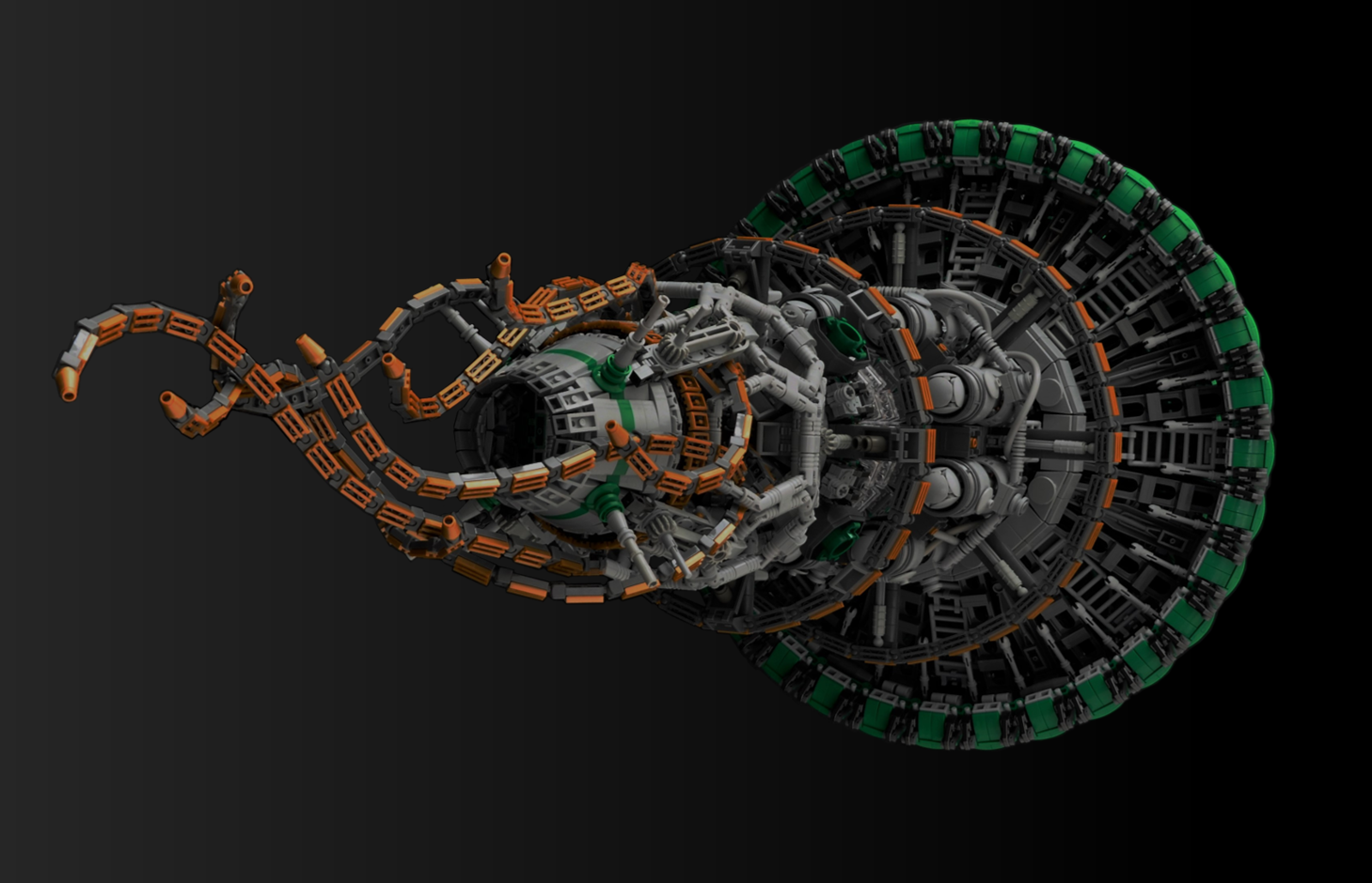 lego moc space ship