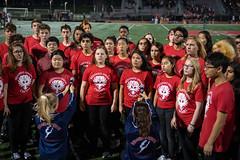 Redondo Union High School - Homecoming Game 2018 - Choir + Football