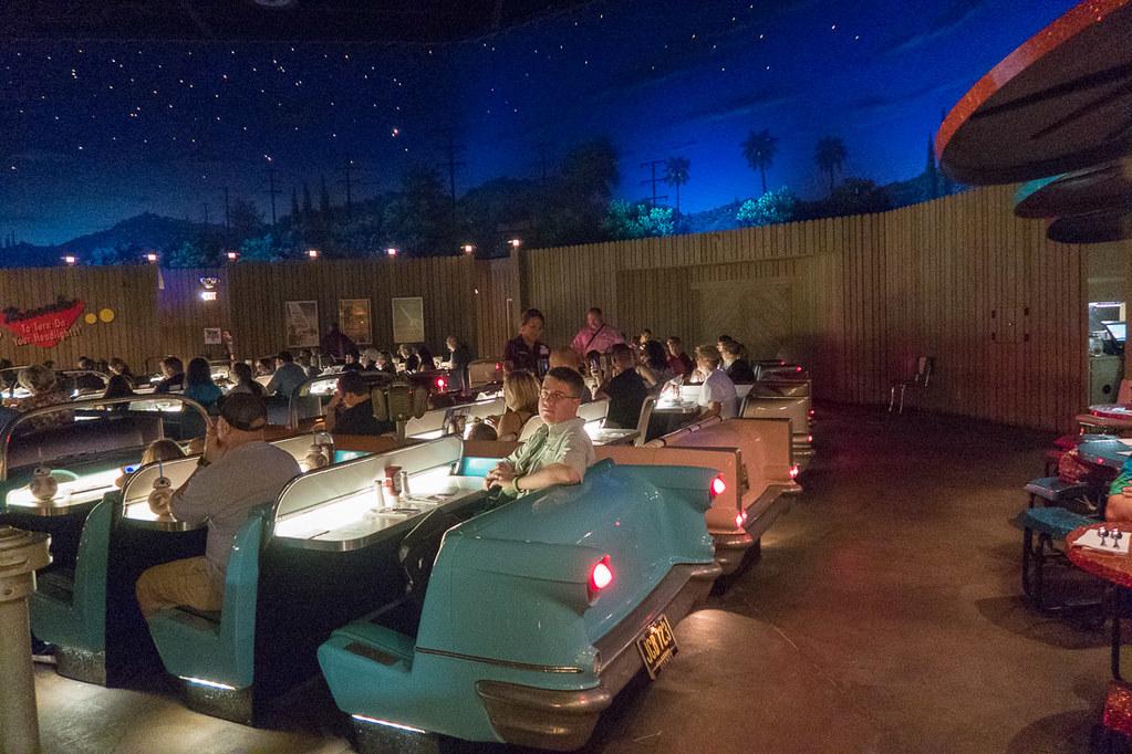 Ken at Sci Fi Diner
