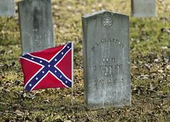 The Confederate Cemetery in Raymond, Mississippi. Original image from Carol M. Highsmith's America, Library of Congress collection. Digitally enhanced by rawpixel.
