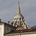Verso il cielo...Torino, scorcio di Palazzo Reale e cupola del Duomo, visti da piazza castello...