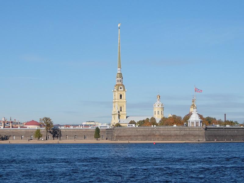 Санкт-Петербург - Шпиль Петропавловского собора