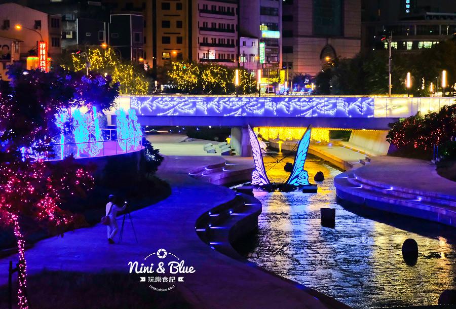 柳川水岸 2018 新盛綠川 燈節 IG打卡16