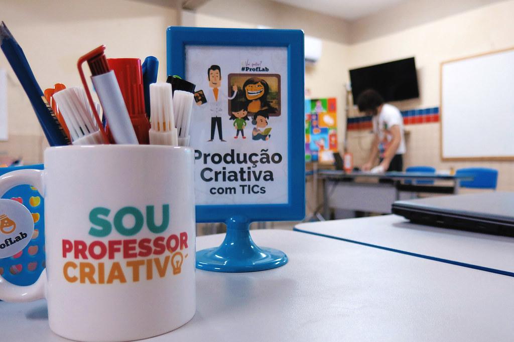 ProfLab na EREM Joaquim Távora - Produção Criativa com TICs