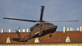 Image of Heldenplatz. austria bundesheer military vienna helicopter