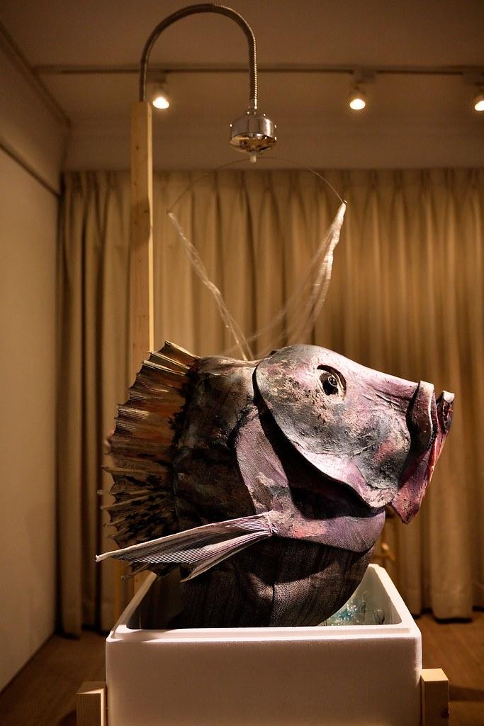 吳郭魚祭壇