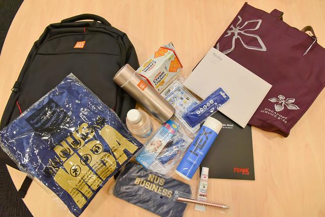 Bag pack provided