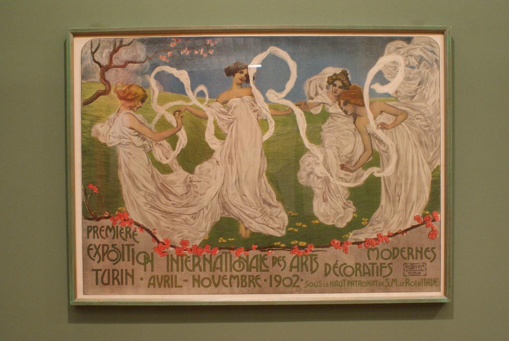 Premiere exposition internationale des arts décoratifs modernes (1902) de Leonardo Bistolfi - GAM, musée d'art moderne de Turin.
