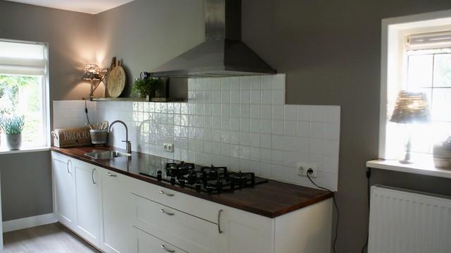 Lichte keuken landelijk