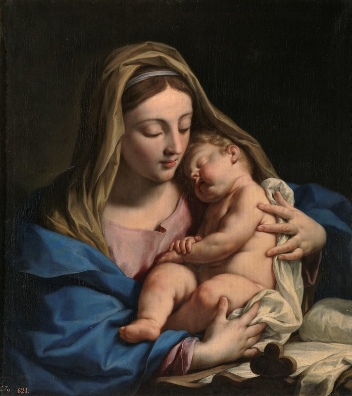 Francesco Trevisani - La Virgen con el Niño (c.1709)