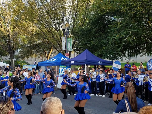 Salvadoran Band and Twirlers
