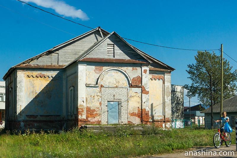 Бывшая церковь Воскресения Христова, Мегрега, Карелия