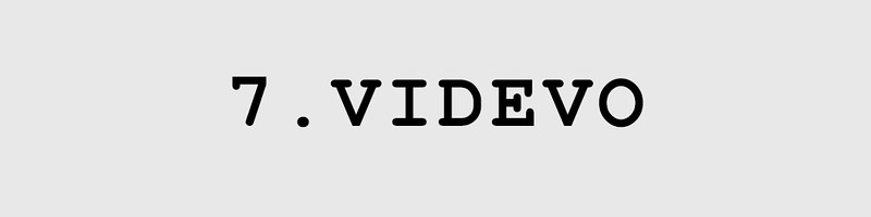 DISTRICT F — VIDEO STOCKS