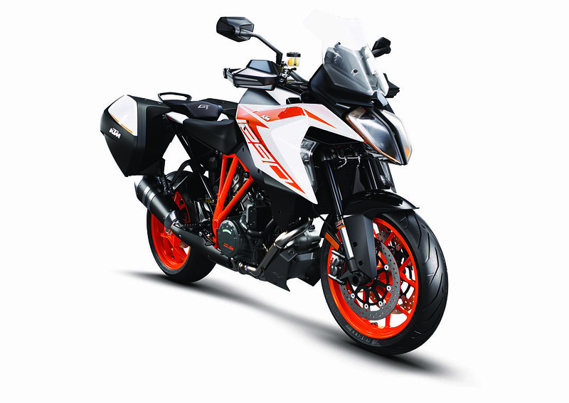 KTM 1290 Super Duke GT MY19 Orange CASE_