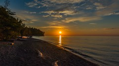 Lake Erie Bluffs Sunset