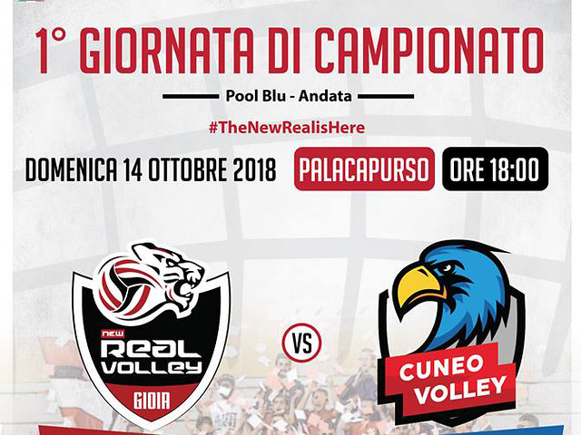 LOCANDINA MATCH Vs VOLLEY CUNEO