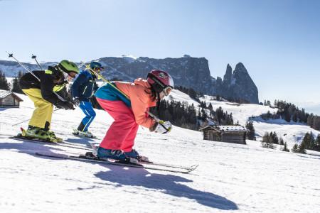 Seiser Alm/Alpe di Siusi: jedinečná horská louka slaví 80 lyžařských let