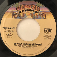 PARLIAMENT:BOP GUN(LABEL SIDE-A)