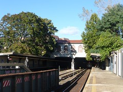 Morris Park Station (5) - IRT Dyre Line/Former New York, Westchester & Boston (NYWB) Railway