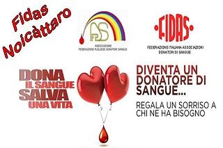 Noicattaro. donazione front