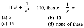 RD Sharma Class 9 Solutions Chapter 4 Algebraic Identities