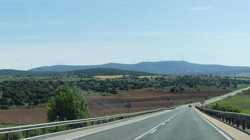 Fahrt von Riaza nach Ainsa