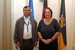Besuch einer Delegation aus Nepal
