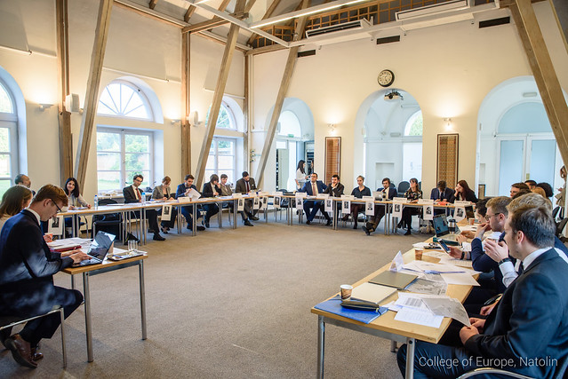 "Simulation Game ""The Paris Peace Conference 1919"" at Natolin"