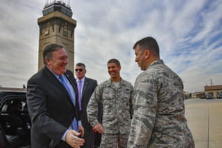 Secretary Pompeo Departs South Korea for China