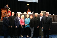 Episcopal Florida posted a photo:	Presiding Bishop Michael Curry joined the Diocese of Southwest Florida for their 50th Annual Convention on Oct. 12-13, 2018.