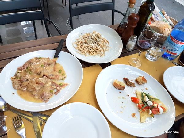 RossoVino da Maurizio patio dinner