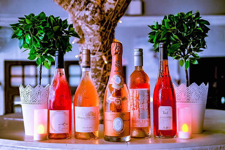 Rose wine in singapore
