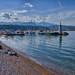 Saint Nicholas Marina and the Lighthouse by n.pantazis