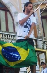 Luiz, o Visitante em show no Marco Zero do Recife, para 30.000 pessoas.