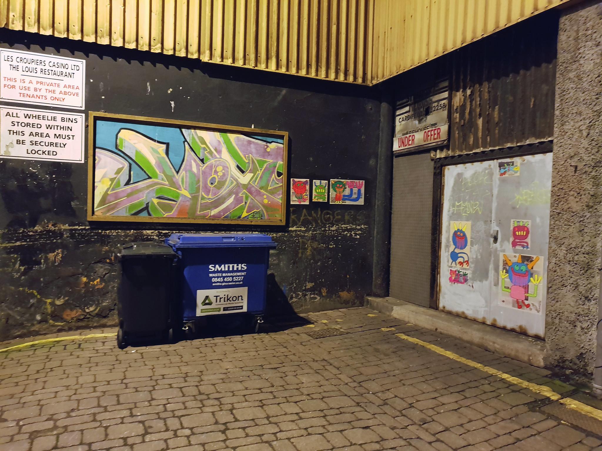 Bortusk, Cardiff