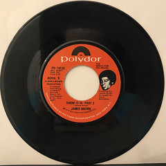 JAMES BROWN:THERE IT IS(RECORD SIDE-B)