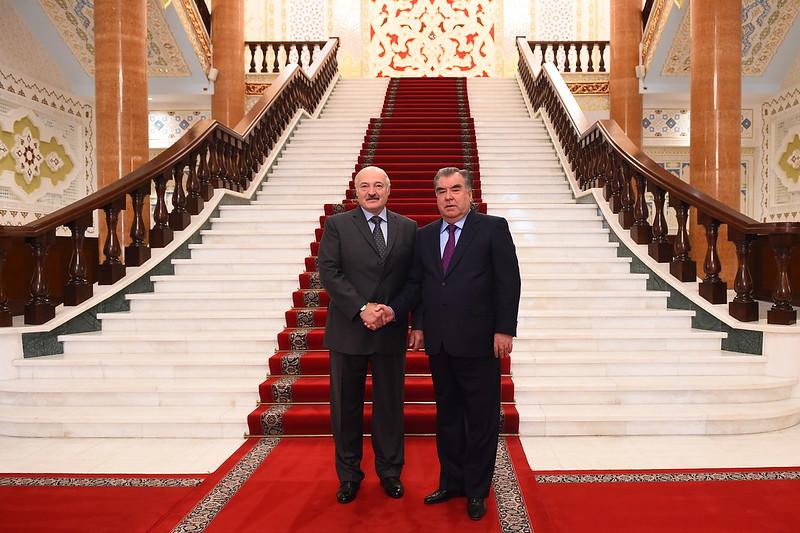 Мулоқот бо Президенти Ҷумҳурии Беларус Александр Лукашенко 29.09.2018